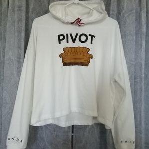 NWOT Friends TV Show PIVOT Hoodie Sweatshirt
